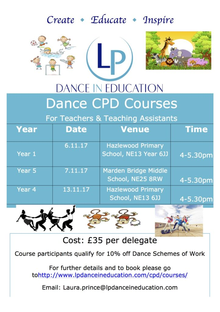 Teacher Training CPD Dance