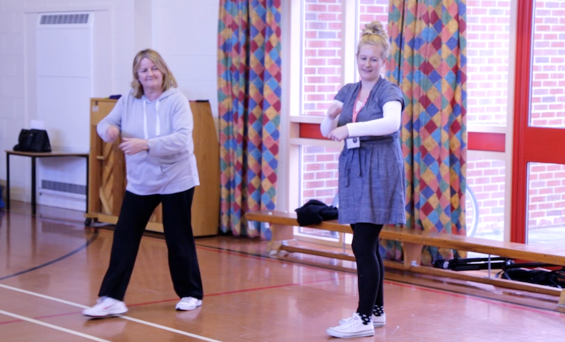 Continued Professioanal Development Dance Course Primary Teachers