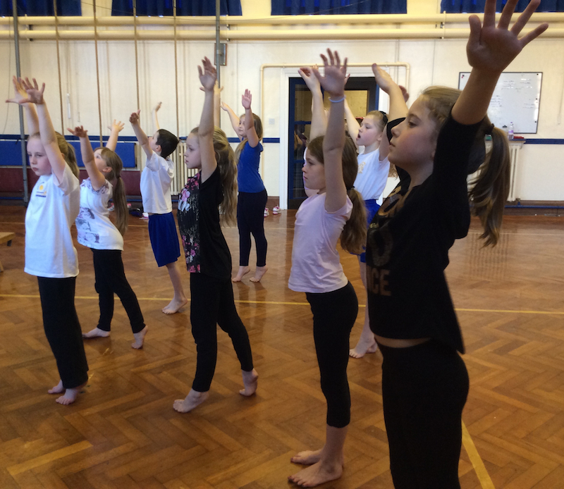 Cullercoats Primary School Choreography