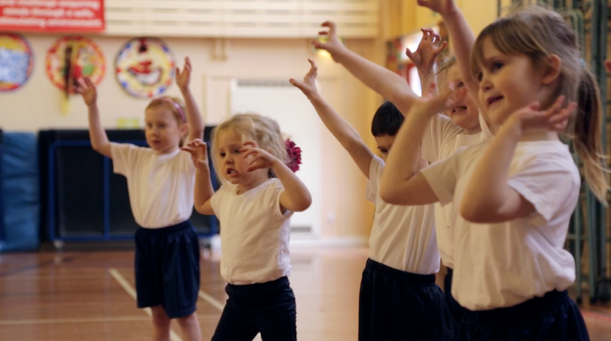 Early Years KS1 Dance Lesson The Gruffalo