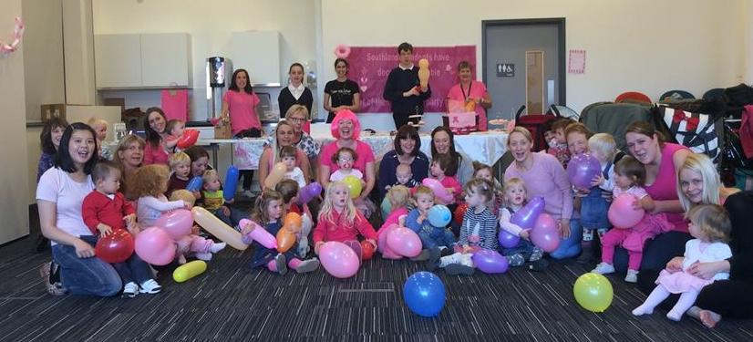 Wear it Pink Charity Community dance class