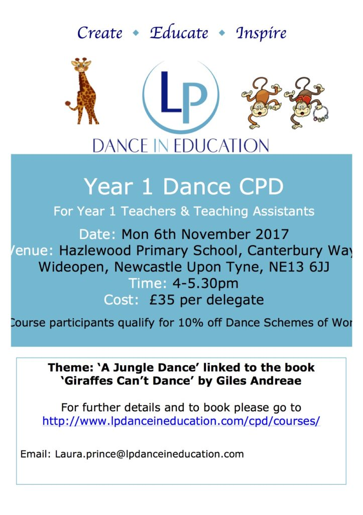 Year 1 Dance CPD Hazlewood Primary School