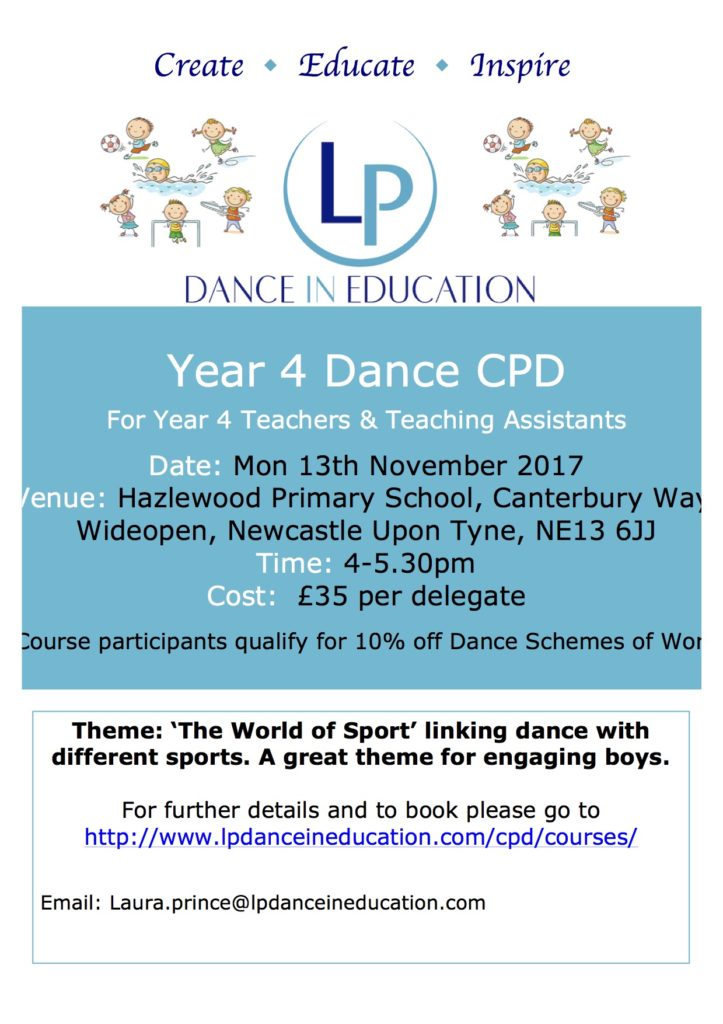 Year 4 Dance CPD Teacher Training